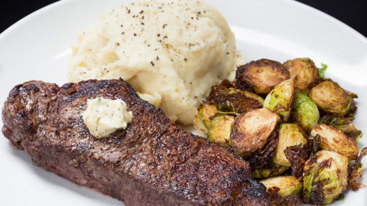 strip-steak-mash-potatoes-brussel-sprouts